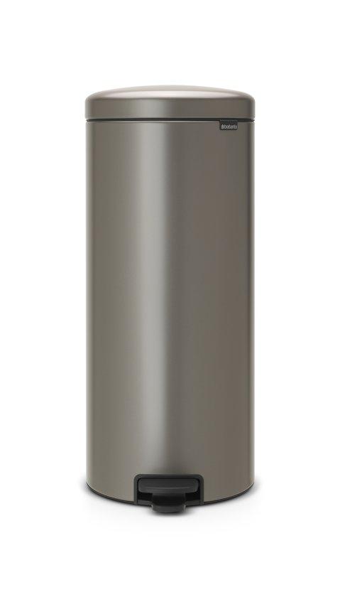Brabantia Afvalbak 30 Liter.Bol Com Brabantia Newicon Prullenbak 30 L Platinum
