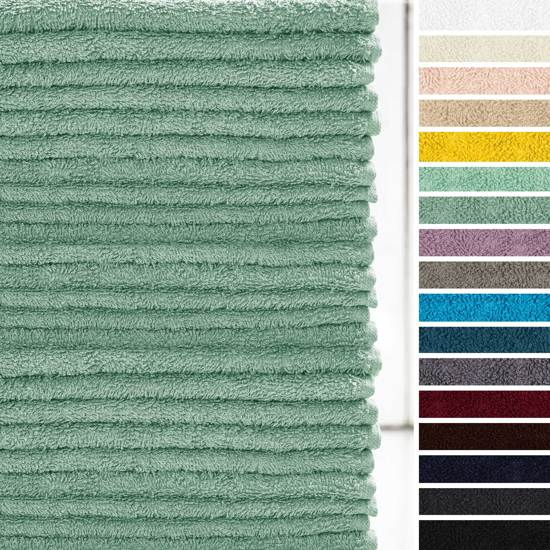 Lumaland - Handdoek - Washandjes set van 24 - 100% katoen - 30x30cm - Meergroen