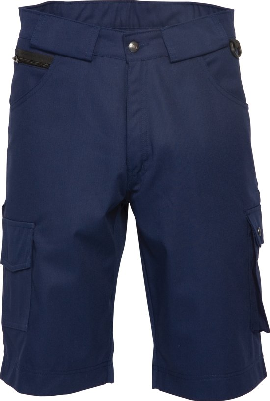 HaVeP Worker 8656 Bermuda - Korte werkbroek - Maat 62 - Marineblauw