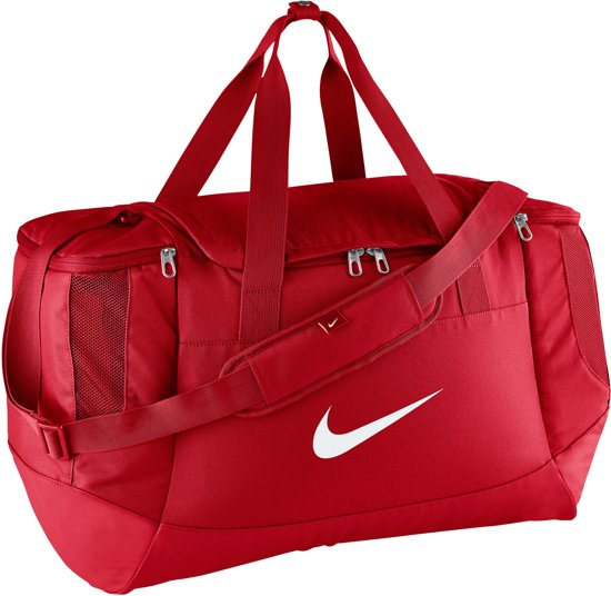 b6c627b2a81 bol.com   Nike Club Team Swoosh Duffel Sporttas Sportsbag M - Rood