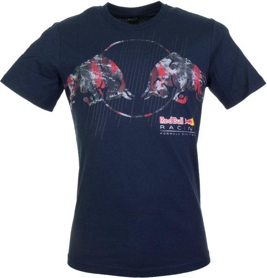f8f37f46776 Puma Red Bull Racing Graphic Tee - Sportshirt - Heren - Total Eclipse - Maat  XL