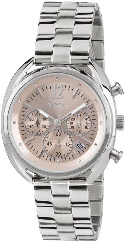 Breil TW1675 horloge dames - zilver - edelstaal
