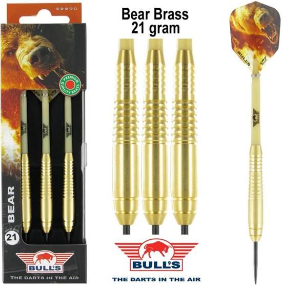 Bull's Bear Brass Dartpijlen (set)
