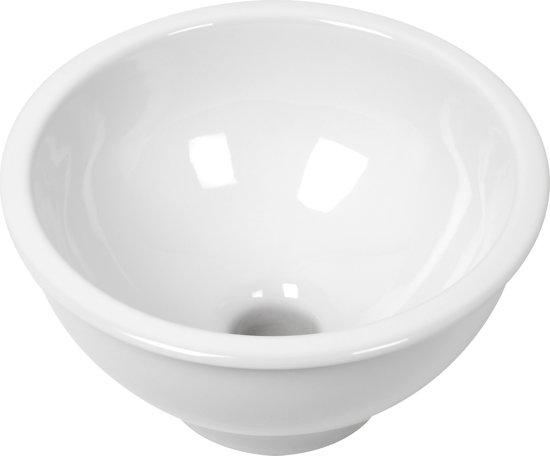 Bol.com plieger boule waskom Ø 30 x 16 cm keramiek wit