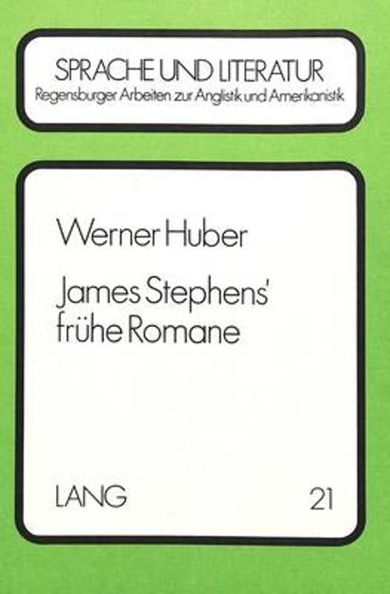 James Stephens' Fruehe Romane