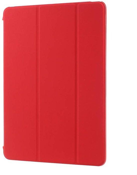 iPad Air Smart Case Rood Transparante backcover