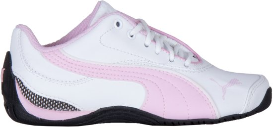 a7d9cf56443 bol.com   Puma Sneakers - Maat 33 - Meisjes - wit/roze