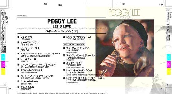 Bolcom Lets Love Peggy Lee Cd Album Muziek