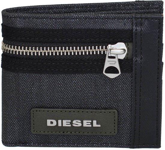 Diesel Portemonnee Dames.Bol Com Diesel Hiresh Small Portemonnee Blauw