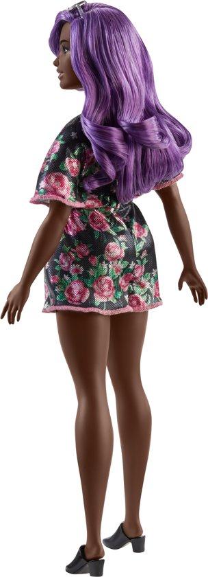 Barbie Fashionistas Curvy Met Paars Haar - Barbiepop