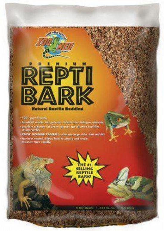 Zoomed bodembedekking Repti Bark - 26 liter
