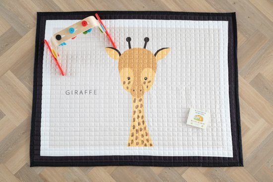 Love by Lily - groot speelkleed baby - Giraffe - 150x200