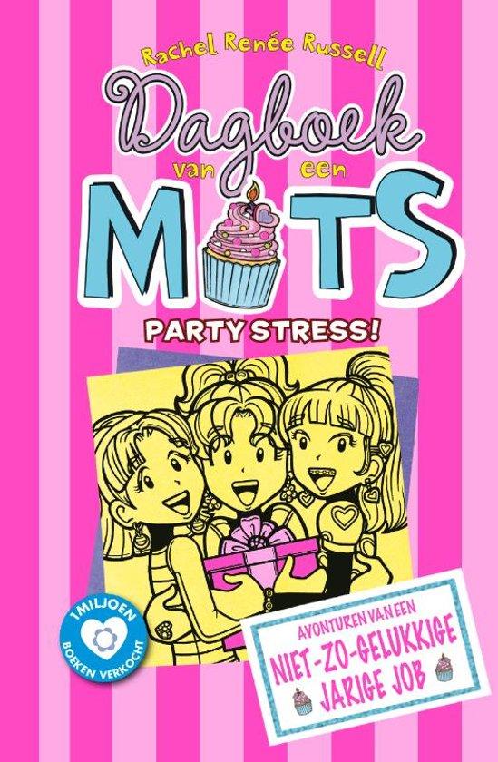 Boek cover Dagboek van een muts 13: Partystress van Rachel Renée Russell (Hardcover)