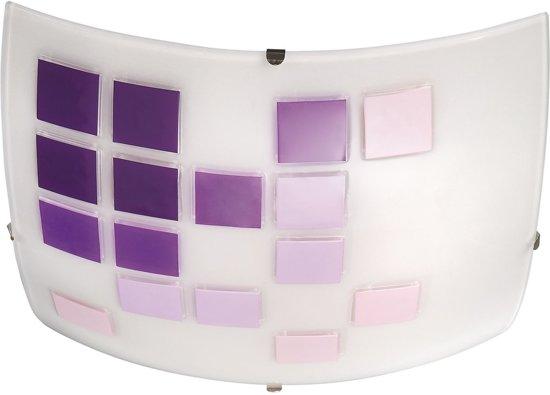 Paarse Slaapkamer Lamp : Bol massive joanne plafondlamp paars