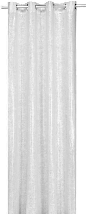 woonexpress metalic kant en klaargordijn wit 140x300 cm per stuk