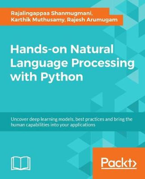 bol com | Hands-On Natural Language Processing with Python