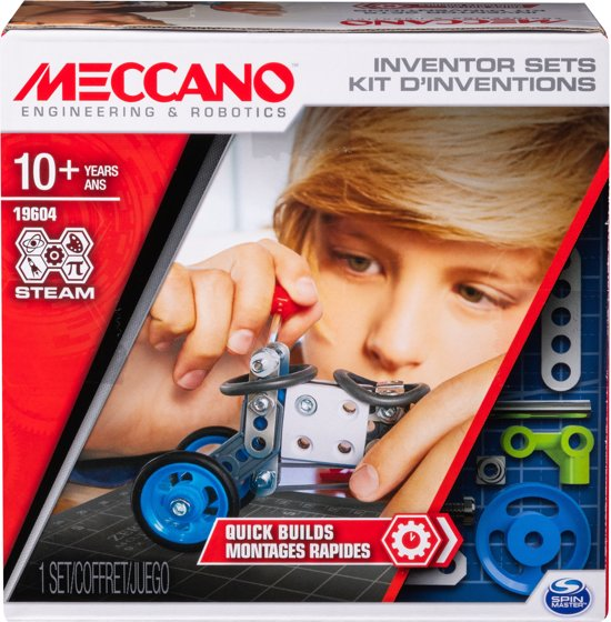 Meccano inventor Set 1: Knutselaar