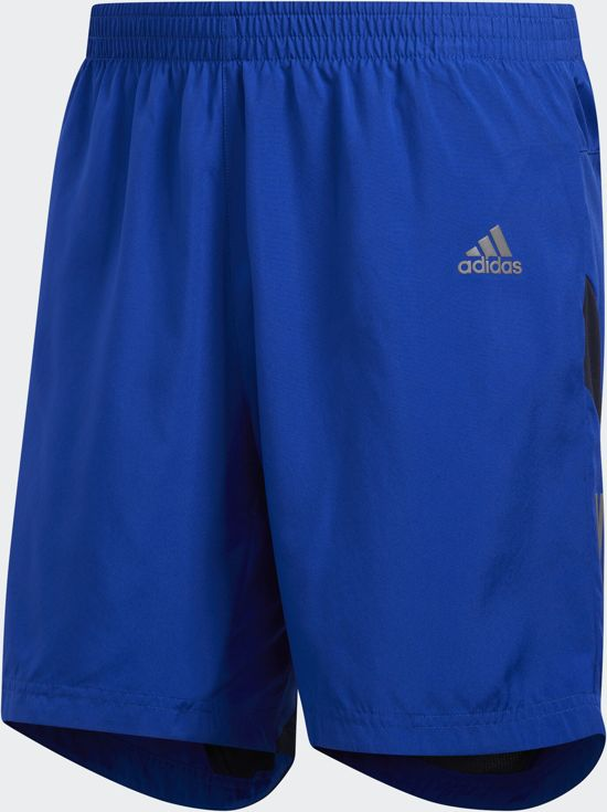 adidas Own The Run Sho Heren Sportbroek - Collegiate Royal/Legend Ink - Maat L 5