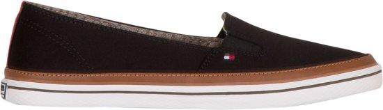 Tommy Hilfiger Sneakers - Maat 37 - Vrouwen - Zwart/bruin