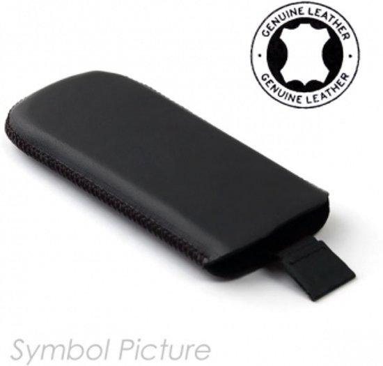 Lederen Hoesje Samsung Galaxy Beam Black Met Strap