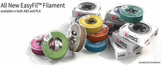 EasyFil PLA - Black - 175EPLA-BLCK-0750- 750 gram - 180 - 220 C