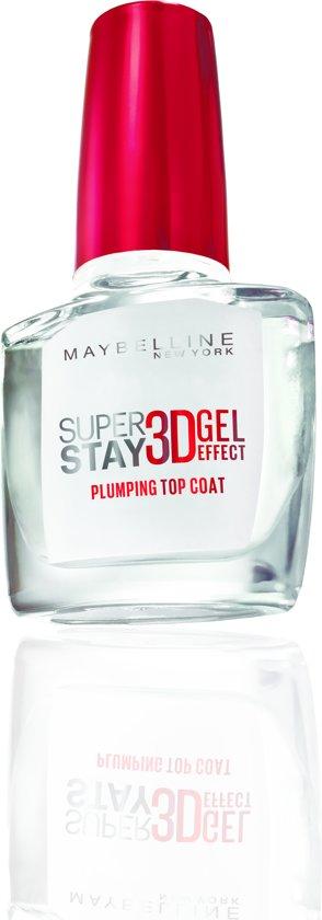 Maybelline Superstay 7 Days 3D Gel topcoat - nagelverzorging