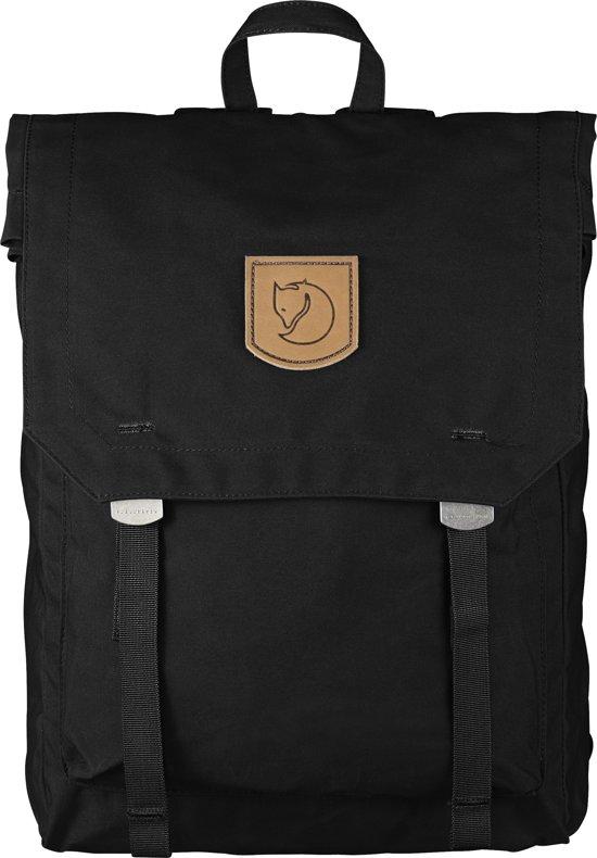 Fjällräven Foldsack No.1 Rugzak - 15 inch laptopvak - Black