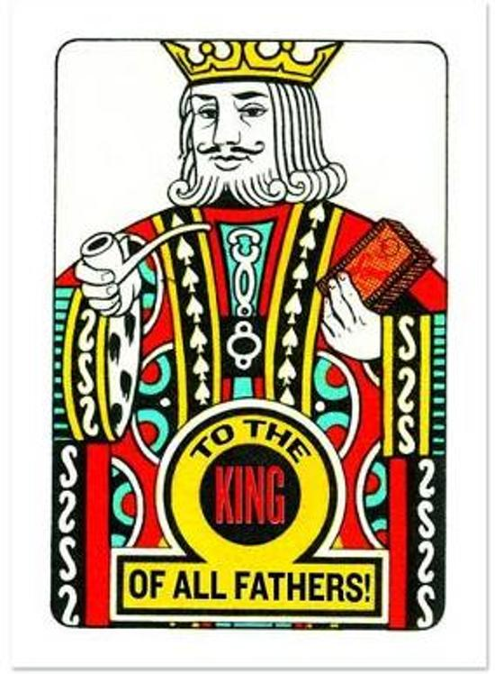 Afbeelding van het spel To a King of a Father Father's Day Greeting Card