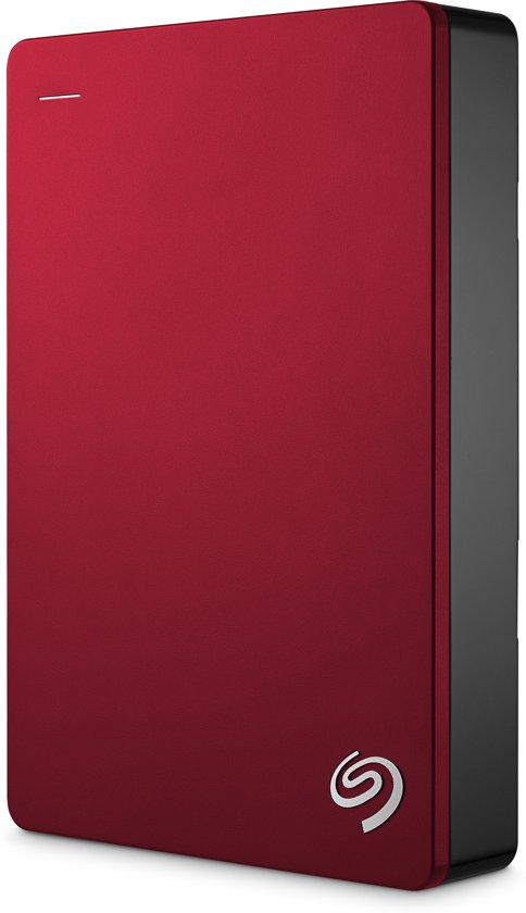 Seagate Backup Plus Portable 5 TB - Rood