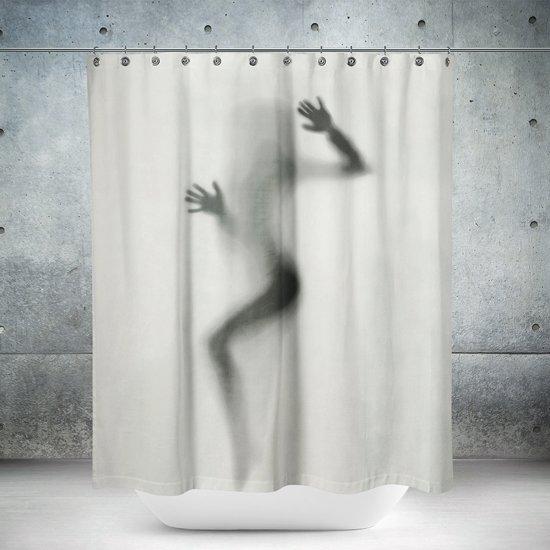 Roomture - douchegordijn - Hello There - 120 x 200
