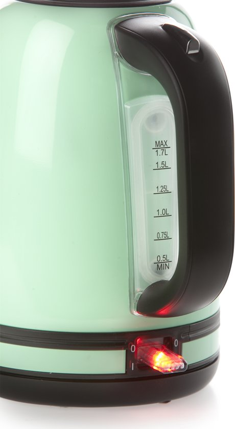 Domo DO489WK Vintage Waterkoker - 1,7 L