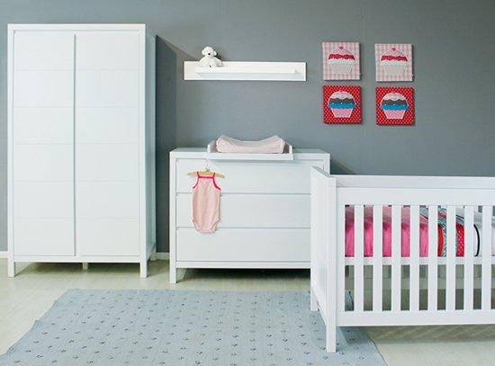 Babykamer Daphne Stijlen : Bol.com bopita 3 delige babykamer napoli wit
