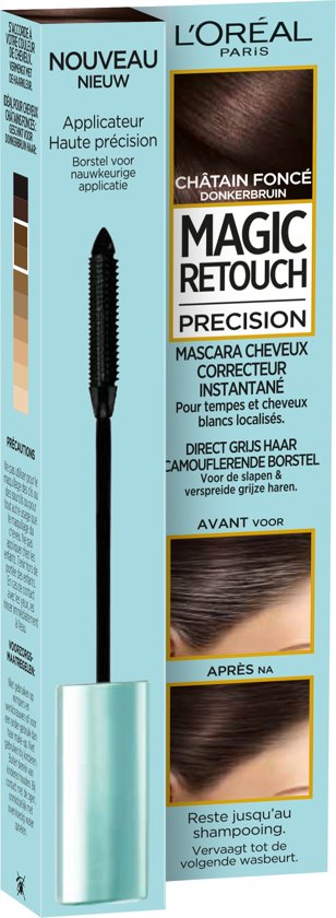 L'Oréal Paris Magic Retouch Precision Mascara - Donkerbruin