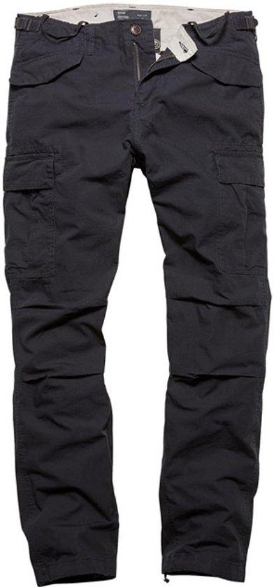 Vintage Industries Miller M65 pants dark navy
