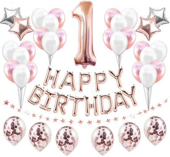 Wonderbaarlijk bol.com   Eerste Verjaardag Meisje Versiering- Happy Birthday AW-41