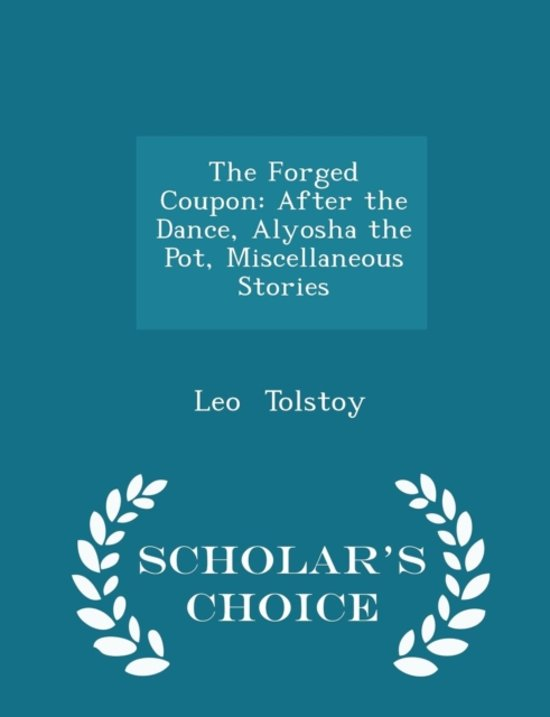 Boek cover The Forged Coupon van Leo Tolstoy (Paperback)