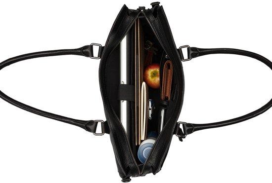 6'' Aktetas Zwart Avery Laptopbag Antique Burkely 15 IAw1pcq