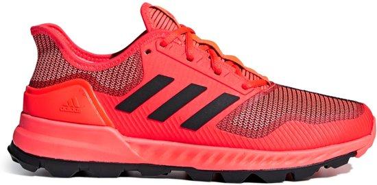 e2643cb1fba bol.com | adidas Adipower Hockeyschoenen - Outdoor - rood - 45 1/3