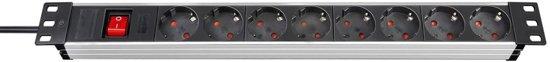 Brennenstuhl Stekkerdoos 8-delig Premium-Line Technic 1390007018
