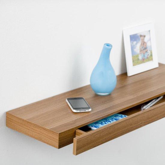 Zwevende Plank Met Lades.Bol Com Duraline Xl5 Met Lade Walnoot 80 Cm