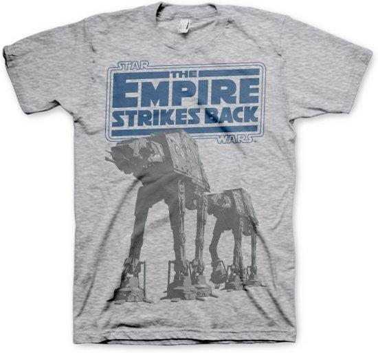 Merchandising STAR WARS - T-Shirt Empire Strikes Back AT-AT - H.Grey (XL)