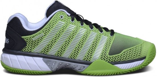 K-Swiss - Hypercourt Express HB Heren tennisschoen (groen/zwart) - EU 45- UK 10,5