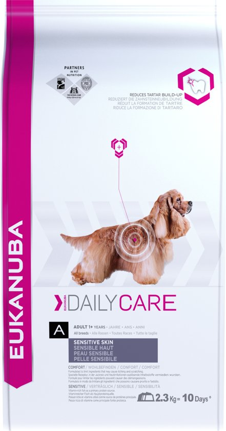 Eukanuba Daily Care - Medium Breed - Sensitive Skin - 2.3 kg