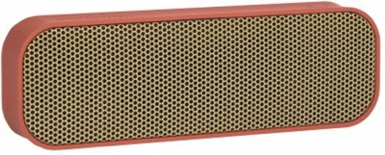 Kreafunk aGROOVE Portable Bluetooth Speaker - Soft Coral -