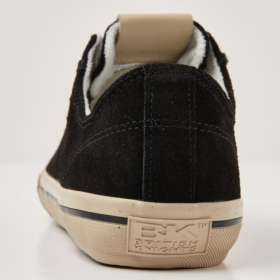British Knights Heren Chase LaagBlack41Suede Sneakers YfmI6vb7gy