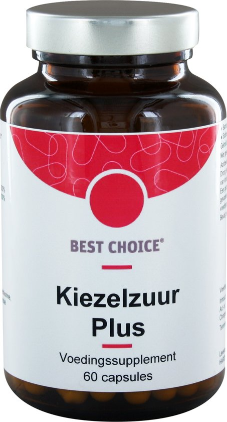 Best Choice Kiezelzuur Plus  60 capsules