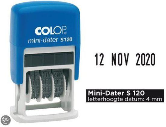 Datumstempel Colop Mini Dater 4mm S120