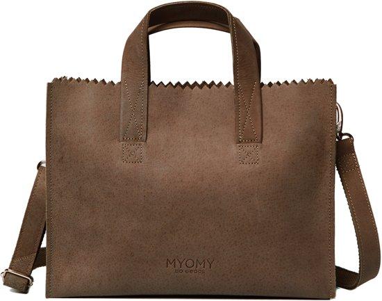 MYOMY My Paper Bag Dames Handtas - Hunter original