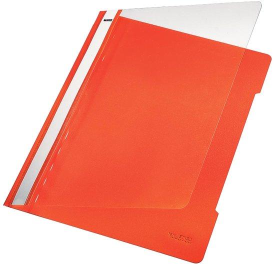Leitz Snelhechtmap oranje formaat A4