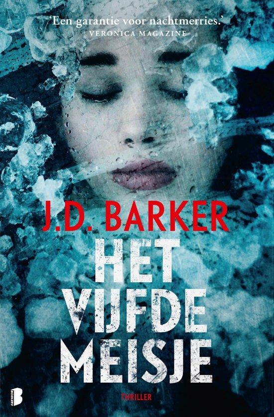 Boek cover Sam Porter 2 - Het vijfde meisje van J.D. Barker (Onbekend)